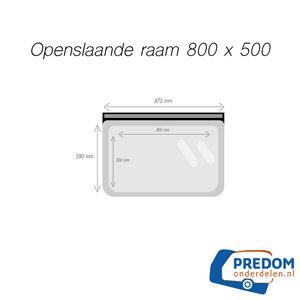 Raam 800/500